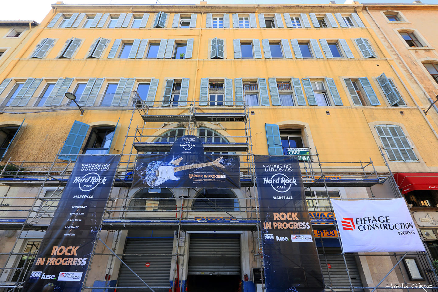 Marseille aura bient t son hard rock caf jean luc for Garage louis marseille